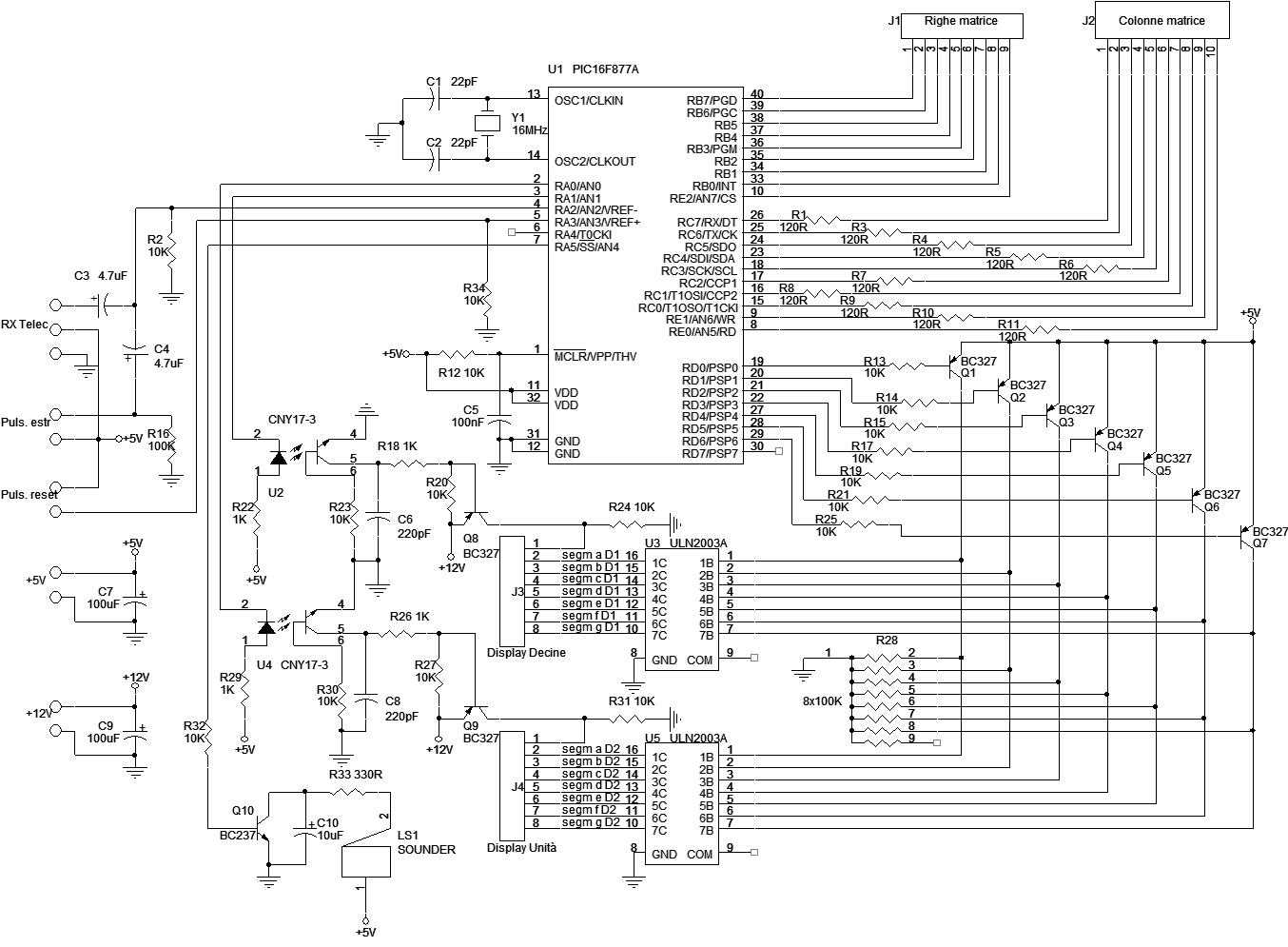 Schema Elettrico Per Tabellone Segnapunti : Grix bingo elettronico