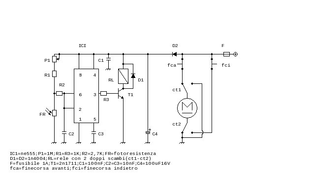 Schema Elettrico Per Porta Automatica Pollaio : Grix apri chiudi porticina pollaio automatica