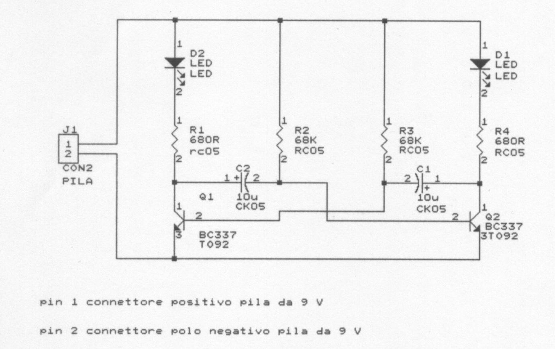Schema Elettrico Per Subwoofer : Schema elettrico per lampeggio led scala tt il forum