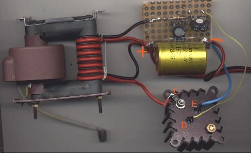 Schema Elettrico Beeper Per Cani : Grix un semplice generatore di piccole scariche
